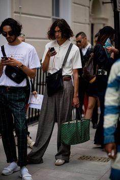 Best street style: London Fashion Week Men's SS19 | British GQ