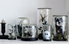 Decorating your home for Halloween doesn't have to be difficult. Get into the mood with our modern, fresh Halloween decorating ideas. Spooky Halloween, Fete Halloween, Holidays Halloween, Halloween Crafts, Halloween Ideas, Spirit Halloween, Happy Halloween, Victorian Halloween Decorations, Modern Halloween Decor