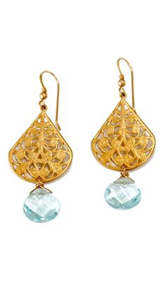 by Robyn Rhodes  Tia Earrings - 14k Gold Filled