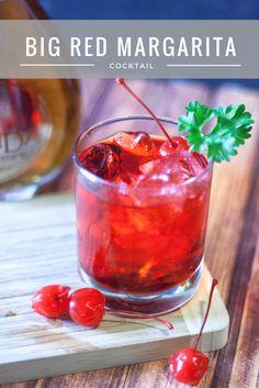Recipe | Big Red Margarita Cocktail ⋆ My Sparkling Life