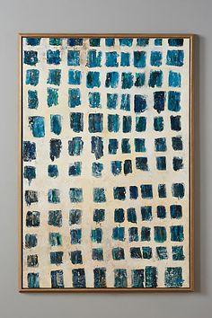 crazy expensive Block Printed Wall Art - anthropologie.com