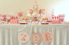 Very cute princess theme.  Love the banner