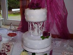 Wedding  Cake Fondant Roses