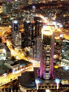 Crown Casino Melbourne  taken from Rialto Towers  Melbourne Australia by geoftheref