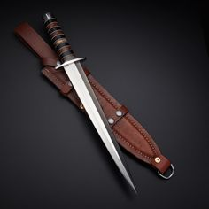 Force Recon Tactical - Tactical Combat Knives + Daggers - Touch of Modern Pretty Knives, Cool Knives, Swords And Daggers, Knives And Swords, Dagger Knife, Combat Knives, Tool Steel, D2 Steel, Fantasy Weapons