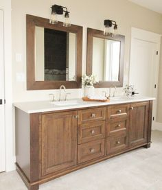 Double Sink Vanity, Vanity Sink, Vanity Design, Showcase Design, Vanities, Your Space, Bathroom, Washroom, Dressers