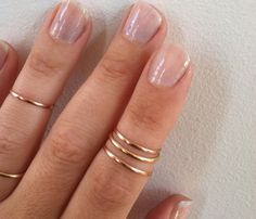layered knuckle rings