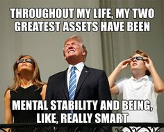 The 25 Funniest Memes Mocking Trump's 'Very Stable Genius' Boast – The Political Punchline Trump Quotes, Trump Lies, Political Memes, Dumb And Dumber, Funny Memes, Funniest Memes, Jokes, Funny Signs, Donald Trump