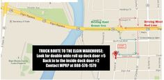 #MaterialHandling #TuesdayTip  Looking for our location in Elgin? We are located at 906 Grace Street. Here are some helpful directions to guide your way! http://www.wprpwholesalepalletrack.com