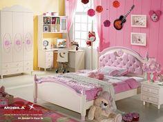 Dormitor Copii fete Hello Kitty | Mobila Dormitoare copii