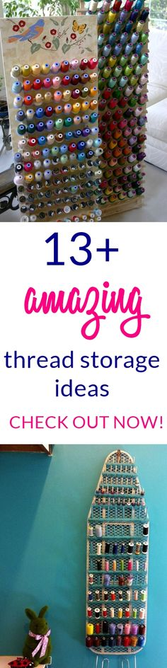 thread storage | thread organizer | thread storage box | thread storage ideas |