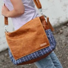 Maybe my next mommy purse. Emily Diaper Bag {custom}