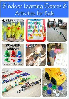 8 Indoor Learning Games & Activities for Kids
