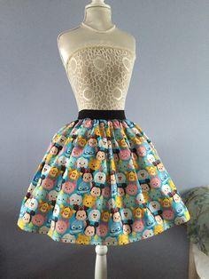 Disney Tsum Tsum Full Skirt by PicknMix on Etsy