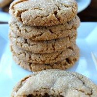 Soft Chewy Molasses Cookies - Great Grub, Delicious Treats