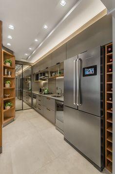 Home Theaters Ideas Kitchen Furniture, Kitchen Interior, Kitchen Decor, Kitchen Pantry Design, Modern Kitchen Design, Cheap Interior Wall Paneling, Dirty Kitchen, Sister Home, Fancy Houses