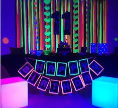 Resultado de imagen para fiesta neon