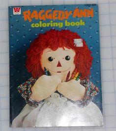 Raggedy Ann coloring book, 1976
