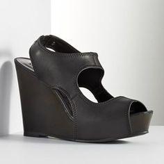 ed71b5af3f4f4 Simply Vera Vera Wang Cutout Platform Wedge Sandals - Women