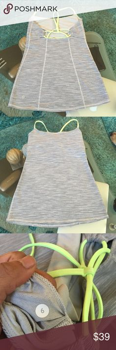 Lululemon tank Great condition Lululemon tank size 8 lululemon athletica Tops Tank Tops