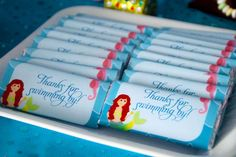 Mermaids Birthday Party Ideas | Photo 21 of 29 | Catch My Party