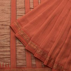 Taanbaan Handwoven Khadi Silk Sari 1012205 - Sari / All Saris - Parisera
