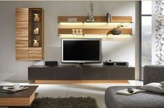 Modern tv wall unit for bedroom impressive contemporary wall unit designs for your living room design . modern tv wall unit for bedroom grey elegant master Room Design, Living Room Collections, Wall Mounted Tv, Living Room Cabinets, Wall Unit Designs, Entertainment Center, Small Living Room, Wall Tv Unit Design, Living Room Tv
