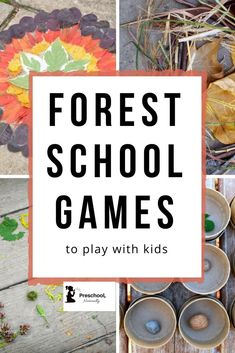 "Spread the loveIf you& looking for some fun forest school games you can play with your kids, you& in the right place! Some of my best memories as a child & Read More ""Forest School Games to play with kids"" Forest School Activities, Nature Activities, Fun Activities For Kids, Outdoor Education, Outdoor Learning, Home Education Uk, Outdoor School, Outdoor Classroom, Forest Classroom"