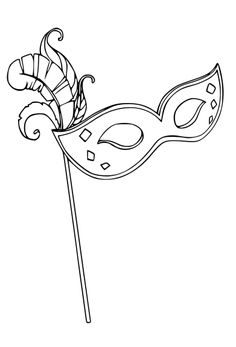 Mardi Gras is all about masks, beads and noisy carnival fun - and we've got just the colouring pages you will need! You'll find Mardi Gras colouring pages for all ages below. Mardi Gras Beads, Mardi Gras Party, Coloring Book Pages, Coloring Pages For Kids, Mask Drawing, Mardi Gras Decorations, Origami, Doodle Designs, Chalkboard Art