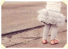 tutu skirt with leggings tutorial