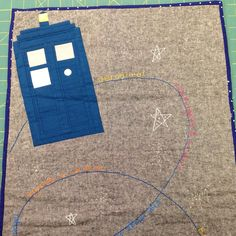 Doctor Who craft swap. Close up.