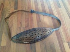 Antique. Shetland Knitting Belt. | eBay This is what my grandmother used for knitting, along with double ended needles.