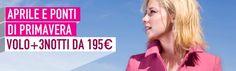 Noi non ci facciamo scoraggiare dal brutto tempo e in #primavera viaggiamo come se ci fosse il sole! Vi offriamo #volo + 3 notti da 195€. http://www.it.lastminute.com/