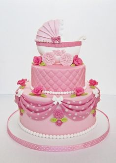 baby shower cake - Cake by elgi