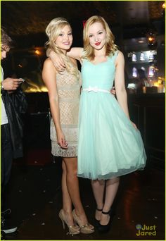 Olivia Holt & Dove Cameron: Old Hollywood Sweet 16 Party