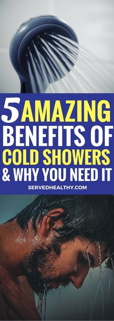 5 Epic Benefits Of Cold Showers And Why You Should Try It - Served Healthy Benefits Of Cold Showers, Water Benefits, Cold Water Shower, Health And Wellness, Health Fitness, Women's Health, Health Care, Fitness Tips For Women, Unclog Pores
