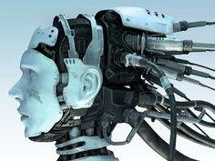 Showing Cyber Girl at resolution , cyborg head of a girl artistic cgi artwork desktop wallpaper music wallpapers Wallpaper Science, Frankenstein, Steampunk, Robot Illustration, Humanoid Robot, Arte Robot, Sci Fi Art, Artificial Intelligence, Design Reference