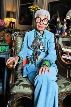 Love her Iris Apfel Talks Street Style with StyleCaster | StyleCaster