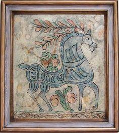 Gadające dachówki: Waldemar Majcher - twórca ludowy Folk, Painting, Art, Art Background, Popular, Painting Art, Kunst, Forks, Paintings