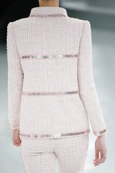 Chanel - Detail - Haute Couture Spring / Summer 2014. #dress #chanel #stylecom