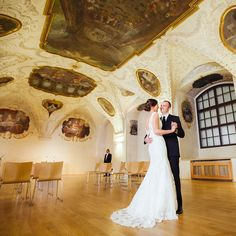 Wedding in Barokko Hall in Prague
