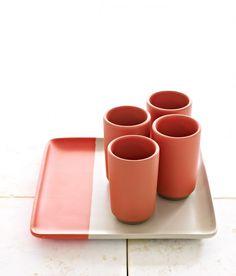 Tray & Tumbler Set - Cook & Dine - Heath Ceramics