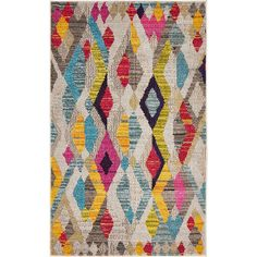 This Turkish Rohini rug is made of polypropylene. This rug is easy-to-clean, stain resistant, and does not shed. Colors found in this rug include: Multi, Beige, Brown, Gray, Light Blue, Light Green, Olive, Puce, Red, Yellow, Pink. The primary color is Multi.