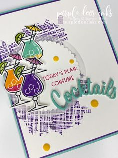Leaving Cards, Coffee Cards, Stampin Up Catalog, Sorority Gifts, Marianne Design, Stamping Up Cards, Card Sketches, Paper Cards, Greeting Cards Handmade