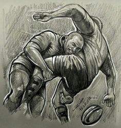 Rugby Wallpaper, Rugby Images, Rugby Sport, Ball Drawing, All Blacks, Rugby League, Pumas, Dope Art, Drawing People
