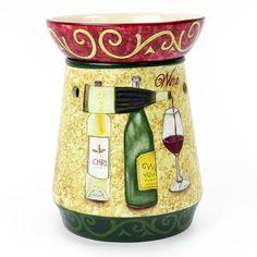 Wine Bottle Design Tart Warmer