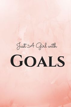 Just A Girl With Goals | Some of the most beautiful words that are inspiring and motivational. Style Quotes. Style Icons. Fashion Quotes. Fashion Icons. Shopping Quotes. Funny Shopping Quotes. Style Sayings. Fashion Sayings. Some of the most inspiring, motivational and meaningful quotes we love! | Ledyz Fashions || www.ledyzfashions.com