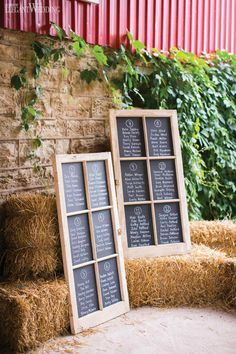 Heather & Sean | Scottish Roots | Photos: Eva Derrick Photography | Venue: Honsberger Estate | Catering, Linens & Rentals: Feastivities Events & Catering | Florist: Country Basket Flower Boutique | Rustic Wedding Table Seating Chart