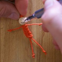 ArtMind: How to make a macramé doll?