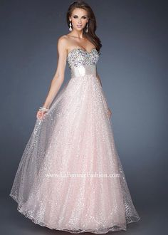 Pretty prom dress and I love the background.   Prom dresses ...